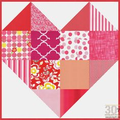 Piece N Quilt: How to: Romance Quilt Block - 30 Days of Sewing Quilt Blocks