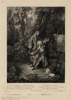Nicolas-Henri Tardieu (1674-1749), d'après Antoine Watteau | Jean-Antoine Watteau et Jean de Julienne