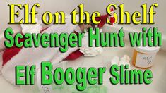 Our Elves on the Shelf had a scavenger hunt for us an we also encountered a sick elf with Slime Boogers ________________________________________ The Elf Trad. The Elf, Elf On The Shelf, Spiritual Symbols, Christmas Preparation, Christmas Activities, Slime, First Love, About Me Blog, Told You So