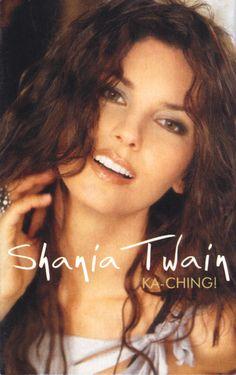 Shania Twain - Ka-Ching! - UK Cassette Single Front Cover