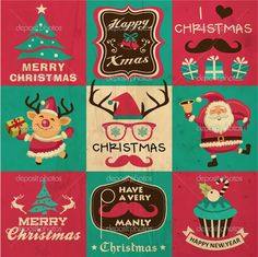 depositphotos_36961201-Vintage-Christmas-symbols-icons-and-hipster-elements-vector-collection.jpg (1024×1023)