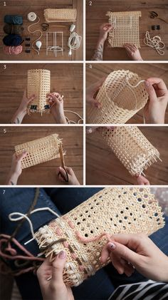 Lampe en Cannage DIY - Lampe en Cannage DIY You are in the right place about diy furniture Here we offer you the most beau - Diy Crafts To Do, Home Crafts, Diy Décoration, Easy Diy, Lampe Crochet, Diy Luminaire, Creation Deco, Boho Diy, Diy Room Decor