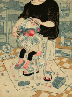 Illustrations by Victo Ngai #GraphicDesign #Inspiration #Illustration