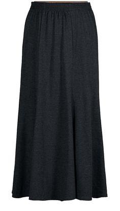 Knit Panel Skirt