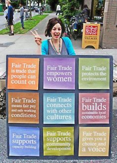 9 Fair Trade Principles explained in a wonderful way.
