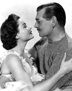"Clark Gable and Gene Tierney ""Never Let Me Go"""