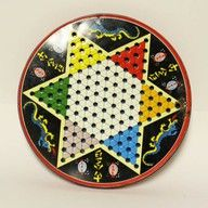 I played lots of Chinese Checkers with my Big Momma!