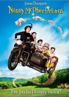 Nanny McPhee Returns - Emma Thompson, Ralph Fiennes, Susanna White - sequel, not as good as the first but still a lot of fun