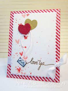 Love Mail -Nina-Marie Design  #papersmooches #simonsaysstamp