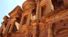"""Archaeologists working to save Jordanian buildings.  In the Jordanian desert, carved into the sandstone cliffs is the spectacular ancient city of Petra. """"It's one of the largest archaeological parks in the world, and it is just fascinating because we know so little about this culture yet,"""" said Cynthia Finlayson, a professor in Brigham Young University's anthropology/archaeology department. A team of Brigham Young University archaeologists are at the ancient site of Petra  in the country..."""