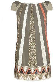 Aztec Dazzle Dress - Lyst