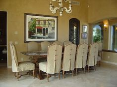 Slip Covers Dining Chair SlipcoversDining Room