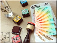 Distress 2015: Mini Distress Inks Set 1 | www.rangerink.com