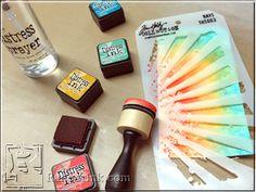 Distress 2015: Mini Distress Inks Set 1 | www.rangerink.com