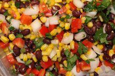 Roasted Corn and Black Bean Salad | My Tall Life