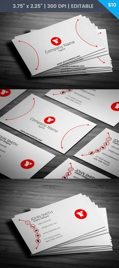 Red white black polka dot mommy card white and red business free red and white designer business card accmission Gallery