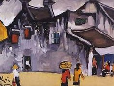 Bui Xuan Phai (1920-88) __ The Vietnamese painter is famous for the paintings of Hanoi Old Quarter. He epitomizes for the Vietnamese the lone artist suffering for his art: he lost his teaching position at the Hanoi College of Fine Arts in 1957 for supporting Nhân Văn affair a movement for political and cultural freedom and was not allowed to show his work in public until a solo exhibition in 1984.