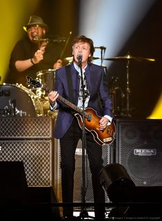 Paul McCartney performs on Opening Night of his tour at Save Mart Center on April 13, 2016 in Fresno, California.