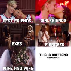The evolution of Brittana