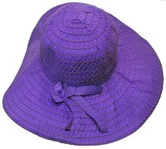475307953a8 Purple sun hat by Purpleologist