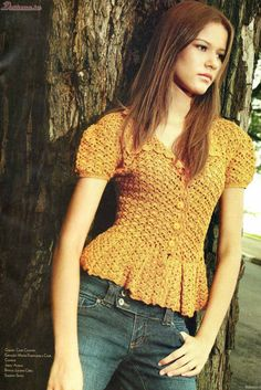 CARAMELO DE CROCHET: crochet laranja batinha