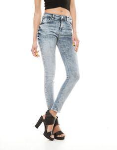 Bershka España - Jeans Bershka tiro alto