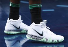 Kyrie Irving in Two New Nike Kyrie 4 Colorways