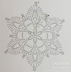 Crochet Snowflake Pattern, Crochet Snowflakes, Crochet Patterns, Crochet Stitches, Crochet Hooks, Sunburst Granny Square, Different Flowers, Holiday Gifts, Candle Holders