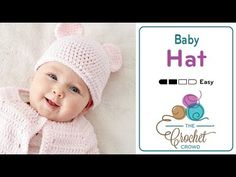 How to Crochet an Easy Baby Jacket - YouTube