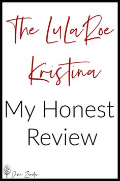 There new LuLaRoe Kristina tank has hit my shop this week! What does that mean? It means that it's time for me to do another round of my honest review because I know that you readers love when I'm honest with a style. So, let's get to it! Here is my honest LuLaRoe Kristina review! #lularoe #lularoeKristina #kristina #tanktop #summerfashion
