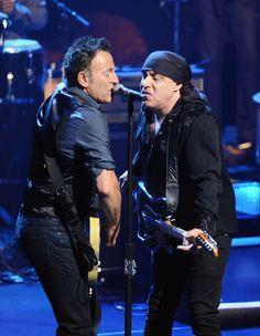 Bruce Springsteen and Steven Van Zandt 2012