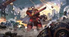 Eternal Crusade-Key Art by DiegoGisbertLlorens