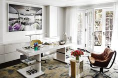 House+Tour:+Urban+Glamour+In+A+Manhattan+Townhouse  - ELLEDecor.com