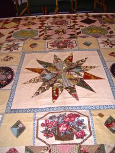 Little Welsh Quilts and other Traditions: Miss Anne Pritchard's Patchwork Bedspread