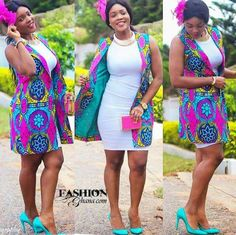 Top Ten Unique Ankara Styles Jacket You Should Try Dabonke African Inspired Fashion, Latest African Fashion Dresses, African Print Dresses, African Print Fashion, Africa Fashion, African Dress, Fashion Prints, African Prints, Men's Fashion