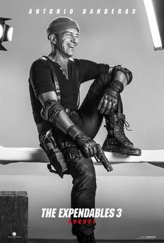 THE EXPENDABLES 3 - 16 Fun Character Posters