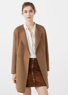 Handmade coat - Coats for Woman | MANGO USA