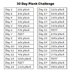 im also going to take  this 30 day plank challenge #fittness motivation