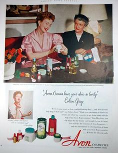 Avon Cosmetics 1950s Vintage Advertising by thevintageshop on Etsy, $5.95