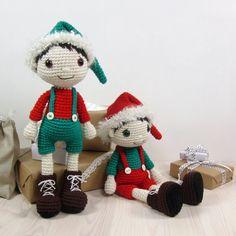 PATTERN: Christmas Elf  Amigurumi doll pattern  von KristiTullus
