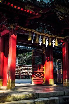 hakone shrine | 箱根神社 (by Swiftblue)