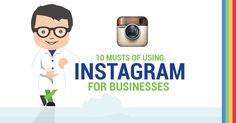 If you're using Instagram for company promotion, you need to know how to market Instagram for businesses. Check out or 10 rules of Business Instagram accounts!