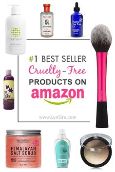 Top Best Seller Cruelty-Free Products You Can Buy on Amazon
