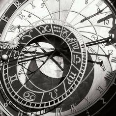 Posterazzi Prague Clock II Canvas Art - Jim Christensen x Clock Tattoo Design, Tattoo Designs, Tattoo Ideas, Prague Clock, Broken Clock Tattoo, Vintage Clock Tattoos, Detailed Tattoo, Custom Framing, Find Art