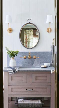 SOUTHERN LIVING IDEA HOUSE 2020 LAUREN LIESS - design indulgence Lauren Leiss, Wellborn Cabinets, Southern Living Homes, Mountain Living, Mountain Homes, Kitchen Installation, Pretty Bedroom, Cottage, Interiores Design