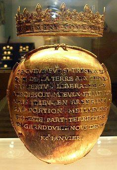 Histoire : reliquaire du cœur d'Anne de Bretagne