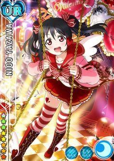 Love Live! Dominates the Top 10 Anime Characters to Get Give Valentine's Day Chocolate Poll haruhichan.com Love Live Nico Yazawa