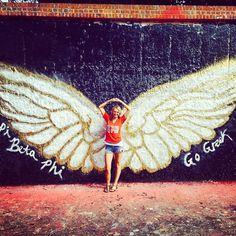 Pi Beta Phi angel wings #piphi #pibetaphi