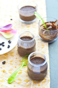 Chocolate Espresso Pots de Creme: Chocolate & Espresso, a match made in heaven.