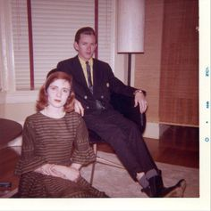 World-Class Author, Anne Rice & husband, Painter/Poet, Stan Rice; 1962  ---- they are a beautiful and inspiring couple.